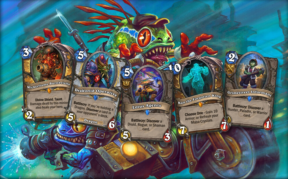 Hearthstone: Knights of the Frozen Throne -- creating Death