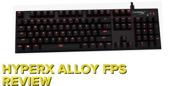 HyperX's Alloy FPS keyboard puts a full-size layout and Cherry switches in a compact chassis