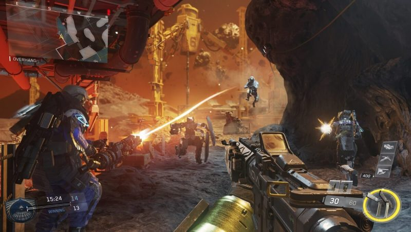 Scorch multiplayer map in Call of Duty: Infinite Warfare.