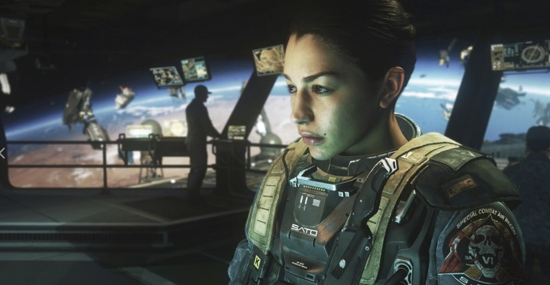 Nora Salter is the main sidekick in Call of Duty: Infinite Warfare.