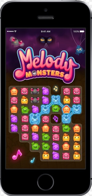 Melody Monsters is the newest game from the makers of Trivia Crack.