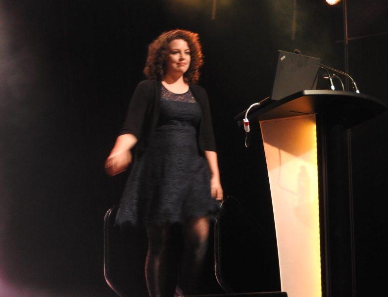 Jill Murray of Discoglobe Interactive at MIGS 2016.
