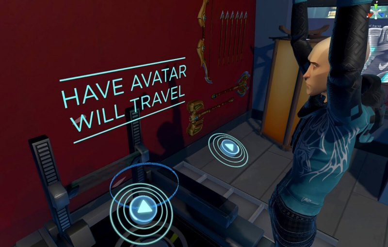 Morph 3D's Ready Room lets you craft your own avatar.