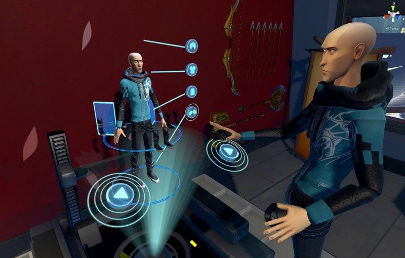 Morph 3D's Ready Room for creating VR avatars.