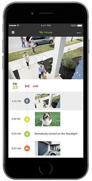 Netatmo's Presence security camera sends alerts to your phone.
