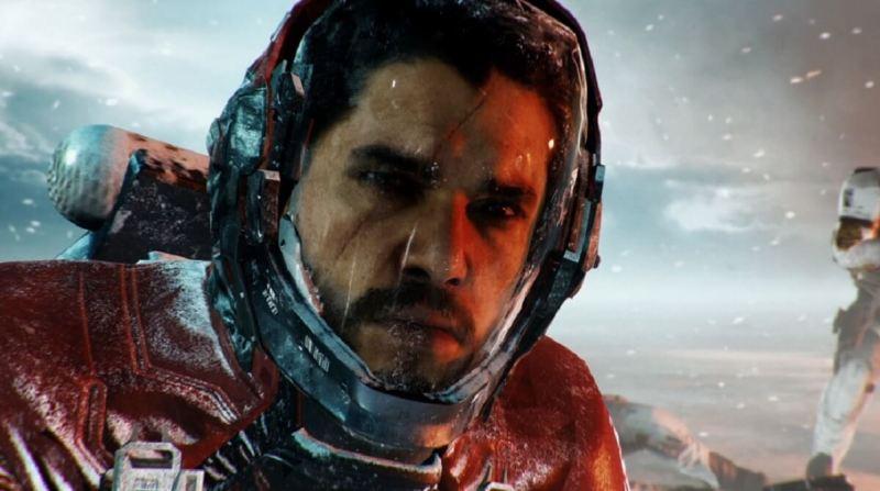 Kit Harington plays Salen Kotch in Call of Duty: Infinite Warfare.