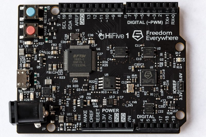 HiFive1 development board.