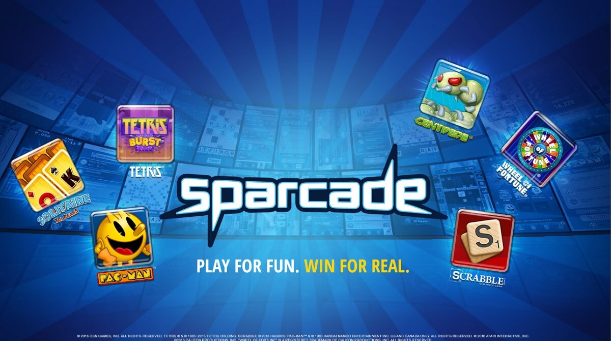 Gsn S Sparcade Lets You Play Centipede And Two Dots Soon For Real Money Venturebeat