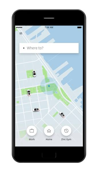 Uber redesigned apps -- shortcuts