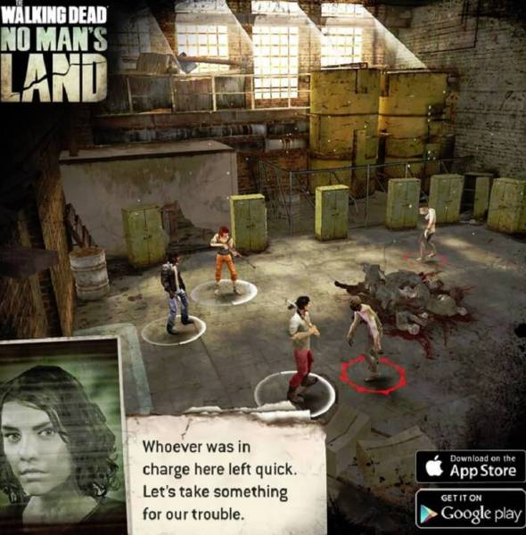 The Walking Dead: No Man's Land has been a huge hit.