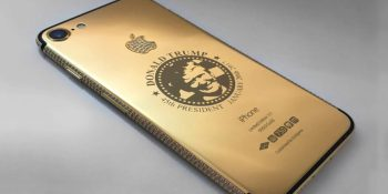 This store is selling gold-plated Trump iPhones for $151,000