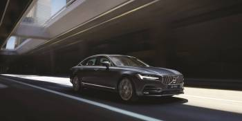 There's a robot driving the 2017 Volvo S90, and it freaked me out