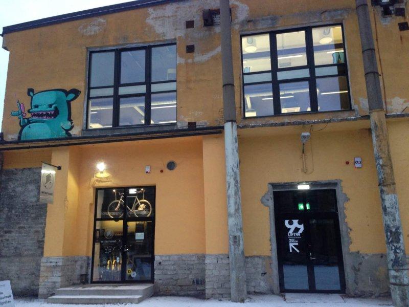 Telliskivi Loomelinnak (Creative City) in Tallinn, Estonia.