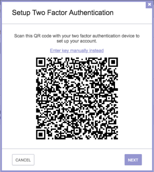 ProtonMail: 2FA setup