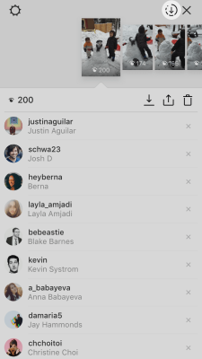 Instagram now lets you save the past 24 hours of your story in a single video file.
