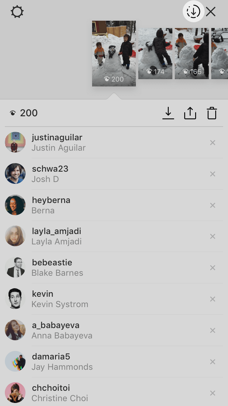 how to see past stories on instagram