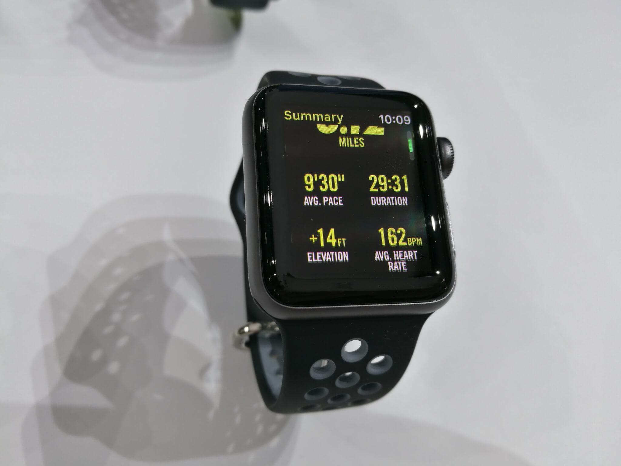 apple watch series 2 vs nike plus version