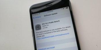 Apple releases iOS 10.2 public beta 6