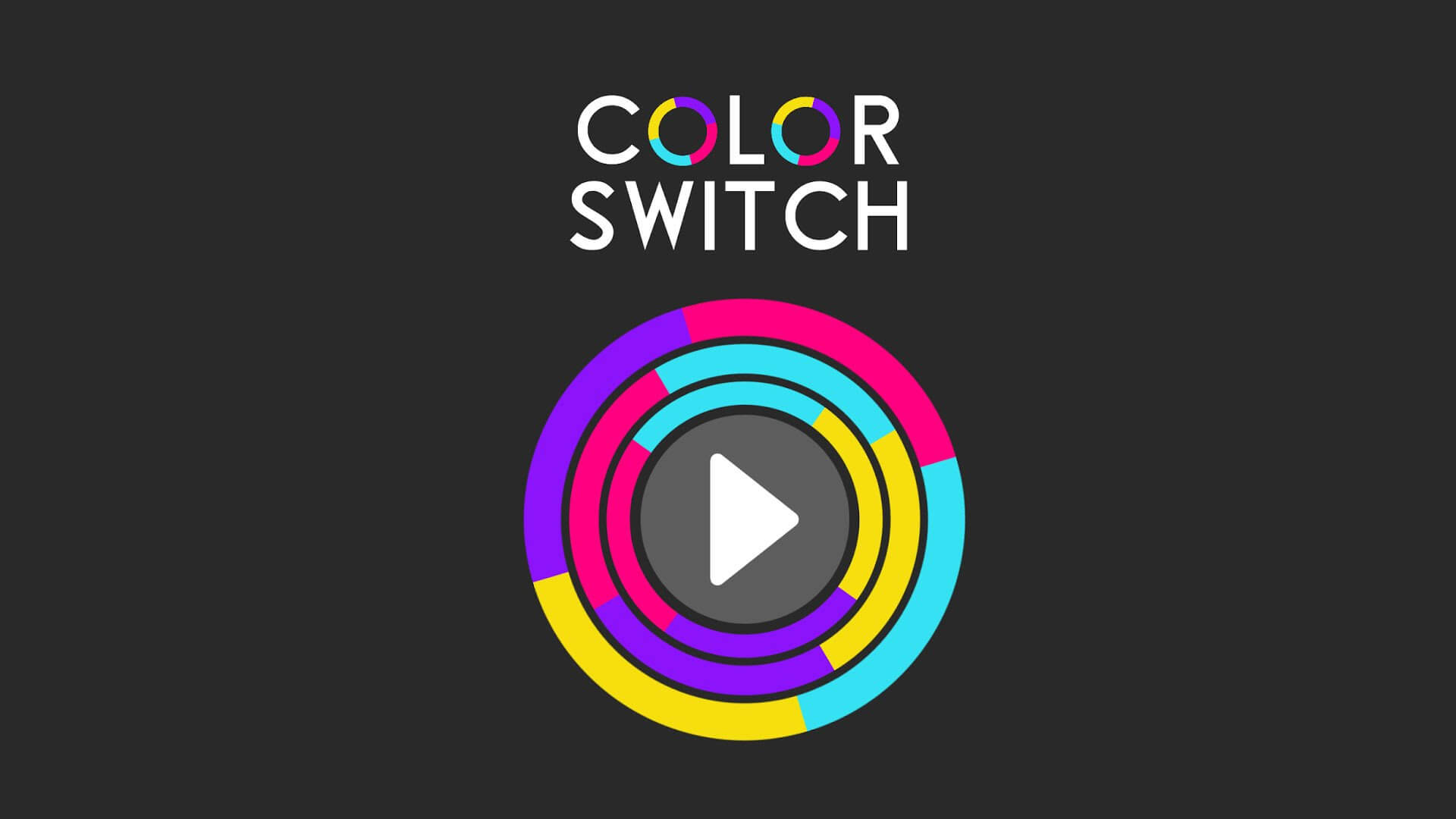 Wait for the colors to switch.