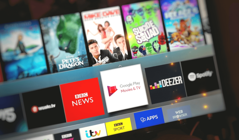 Google Play Movies on Samsung Smart TV