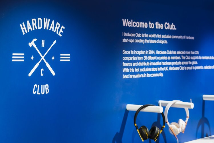 The Hardware Club at Harrods.