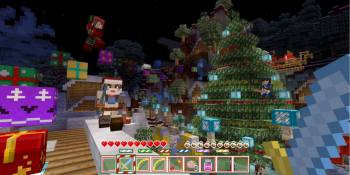 Minecraft's holiday update is live for PlayStation, Xbox, and Nintendo consoles