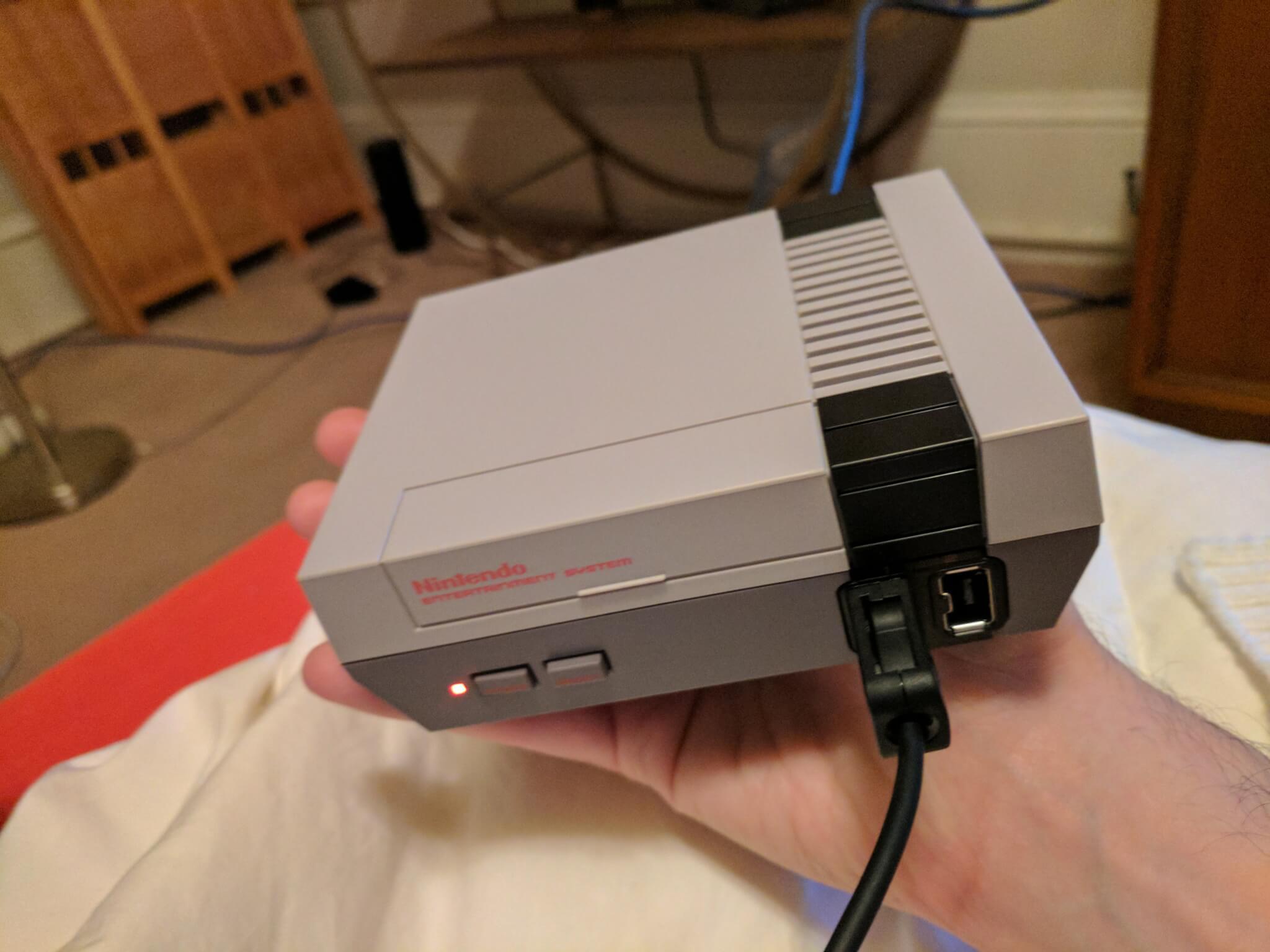 Nintendo's NES Classic.