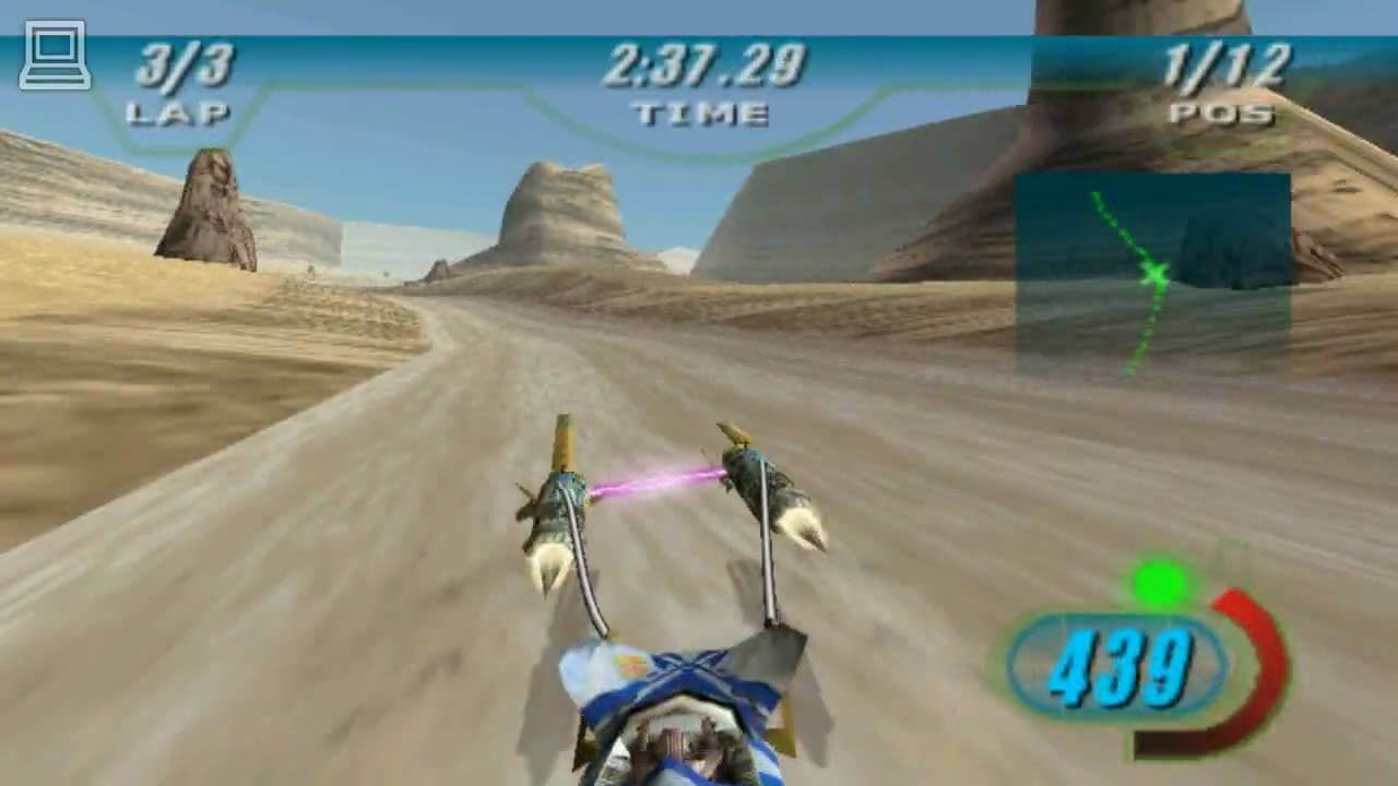 Now, this is podracing!