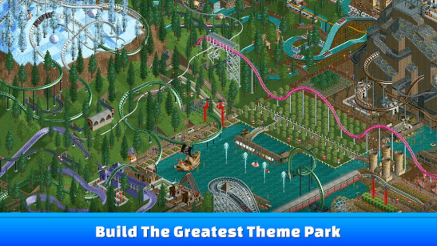 RollerCoaster Tycoon is back on mobile.