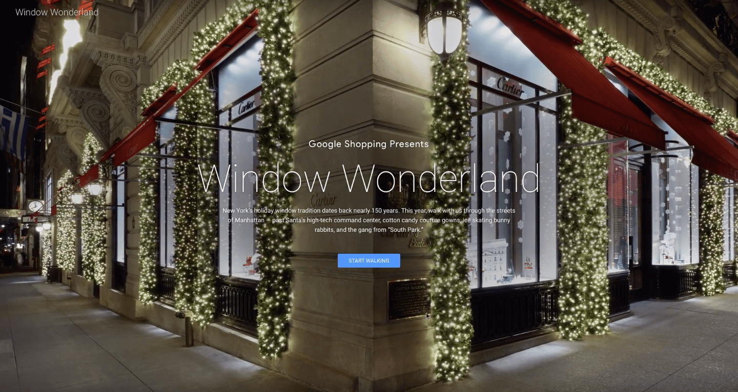 Google now lets you take a virtual tour of New York City\'s holiday ...