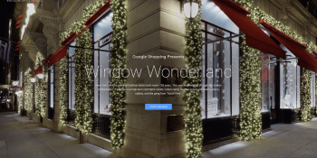 Google now lets you take a virtual tour of New York City's holiday windows