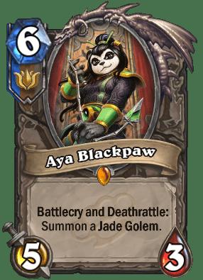 Aya Blackpaw.