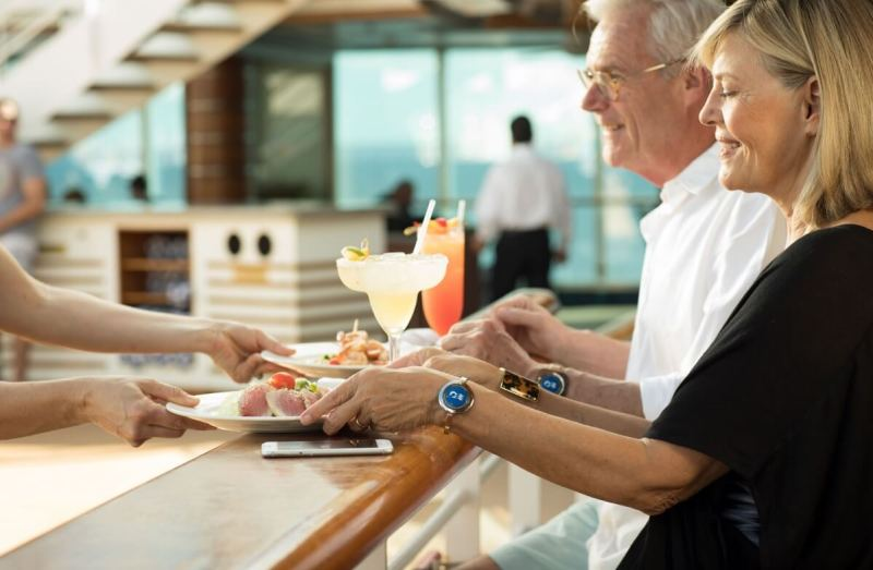 Carnival's Ocean Medallion wearable makes it easy to tailor a guest experience on a cruise ship.