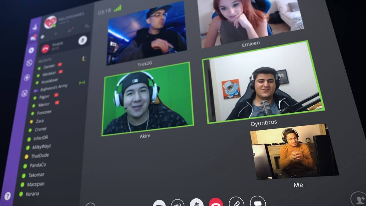 Curse voice app adds video calls and screen sharing
