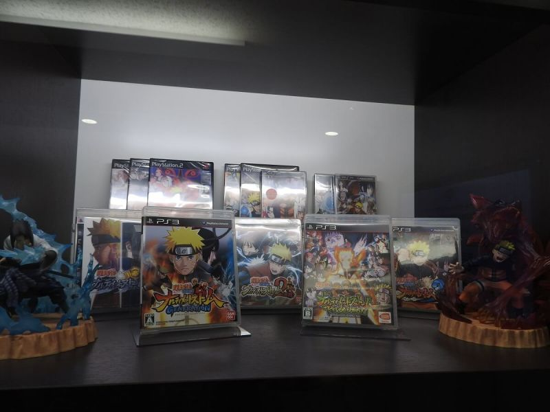Some of CyberConnect2's console games.