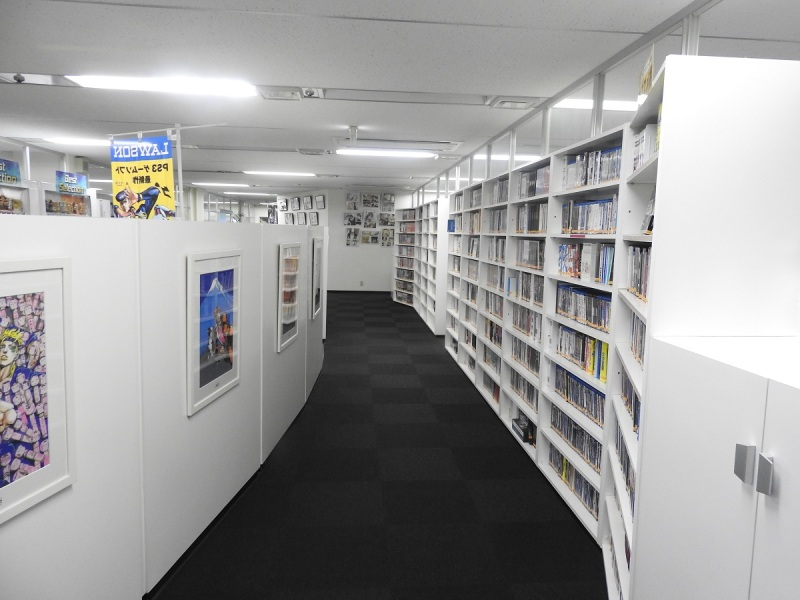 Manga collection at CyberConnect2.