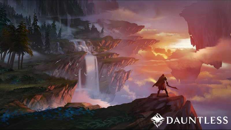 Concept art for Dauntless