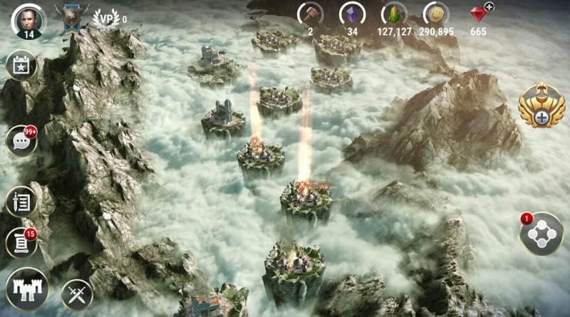 Dawn of Titans has lots of kingdoms.