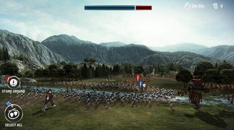Dawn of Titans. Count all the soldiers.