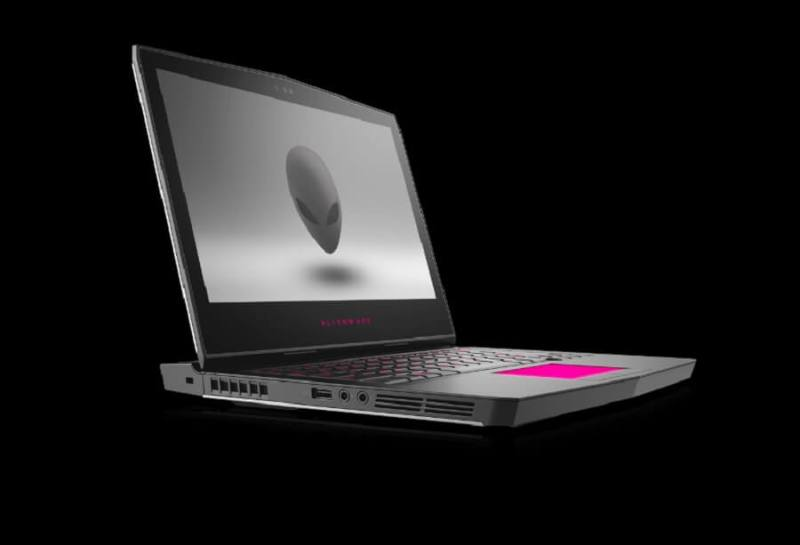 Dell Alienware 17 gamer laptop.