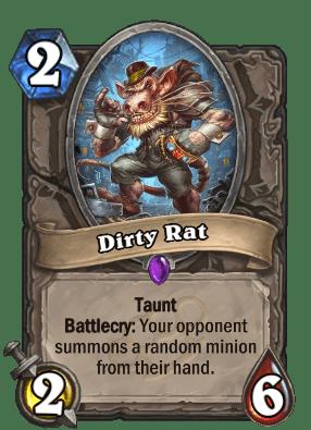 Dirty Rat.