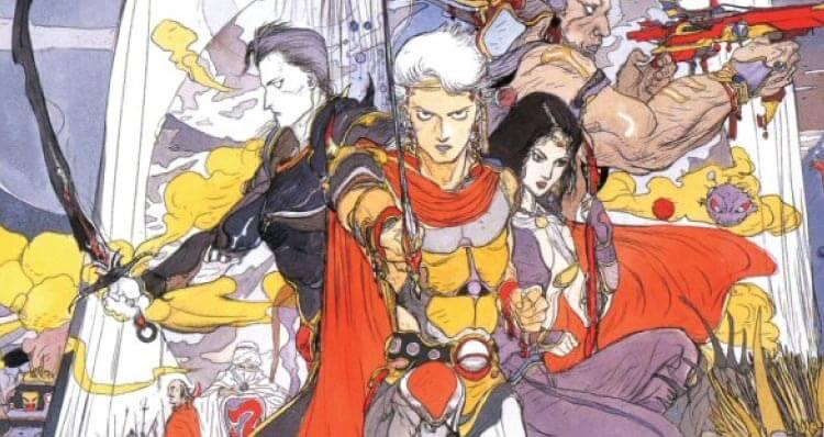Final Fantasy II's heroes.