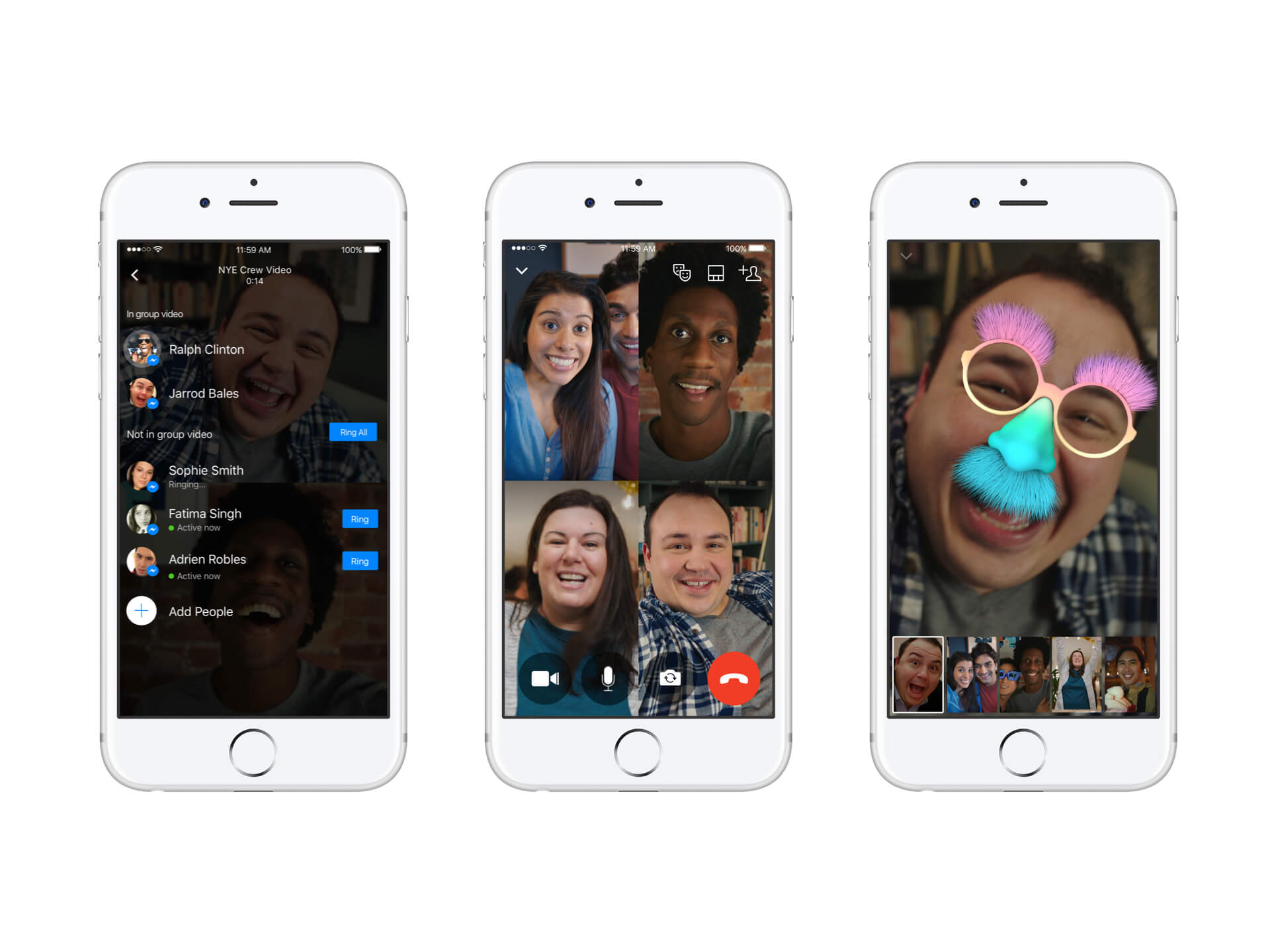 You Can Now Add Friends to Ongoing Video Calls on Facebook Messenger