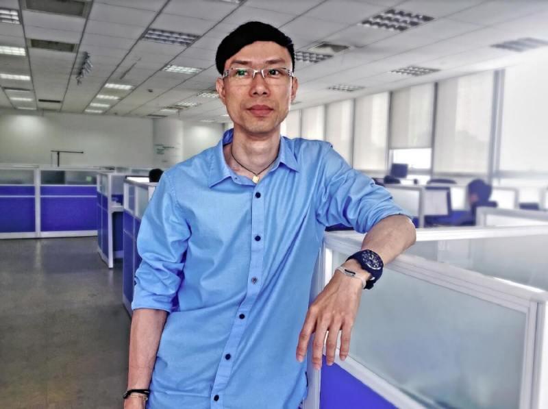 Eric Tsang, CEO of Hubblo.