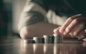 investing coins stack counting