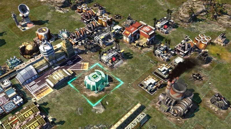 Kixeye's War Commander Rogue Assault lets you create buildings instantly.
