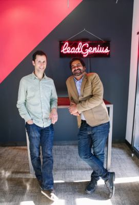 LeadGenius cofounders