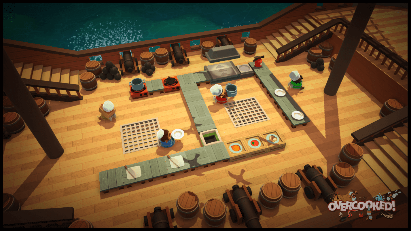 Overcooked is infuriating and exhilarating.