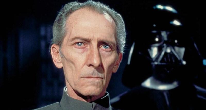 Peter Cushing in the original Star Wars movie.