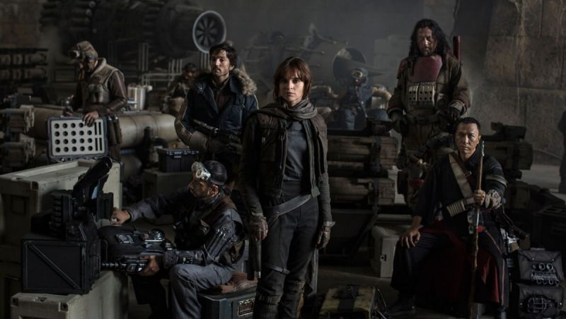 Rogue One: A Star Wars Story.